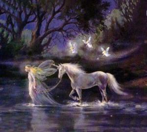 fairt and unicorn