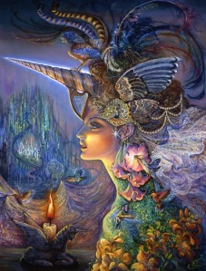 lady_unicorn by josephine wall