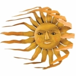 sun in wind