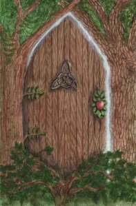 Faerie Door by Mickie Mueller