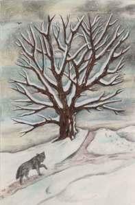 Tree in Winter by Mickie Mueller