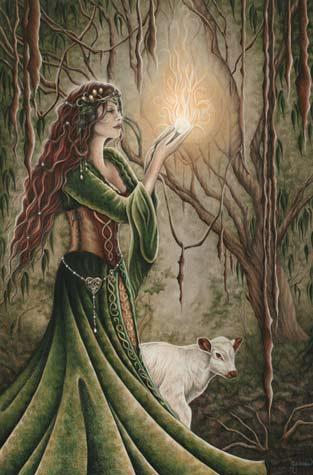 Resultado de imagem para celtic goddess of nature