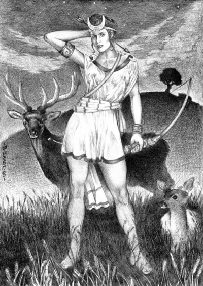 Wiccan Goddess Diana | Spiritblogger's Blog