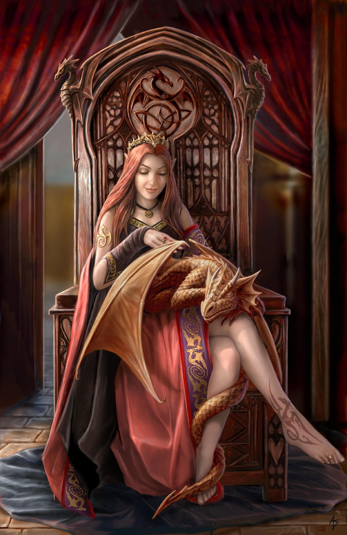 Fairies & Dragons - Magazine cover